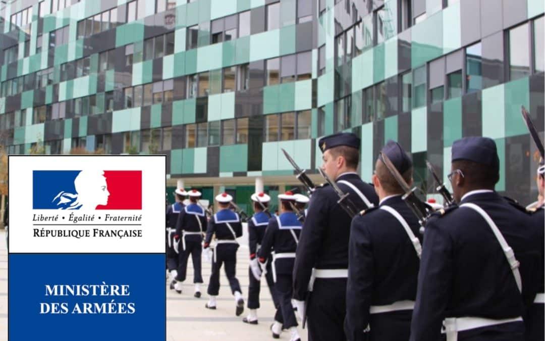Allocution d'Oalia lors de l'inauguration du Système d'Information Alpha par la Ministre des Armées, Vendredi 16 Mars 2018.