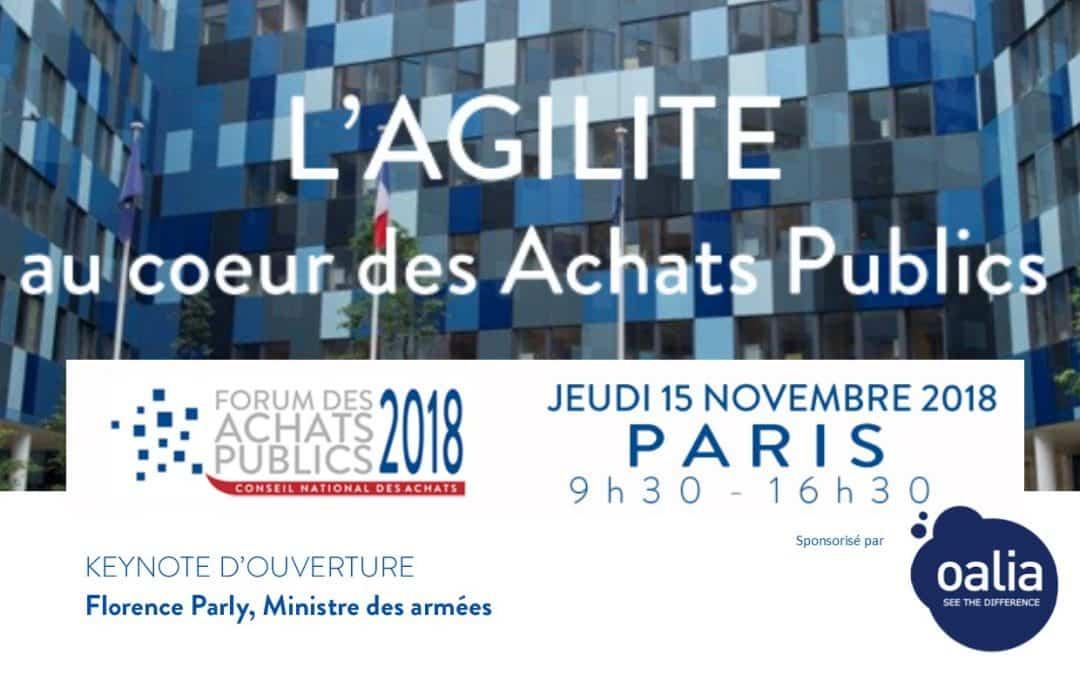 Forum «L'agilité au cœur des achats publics»