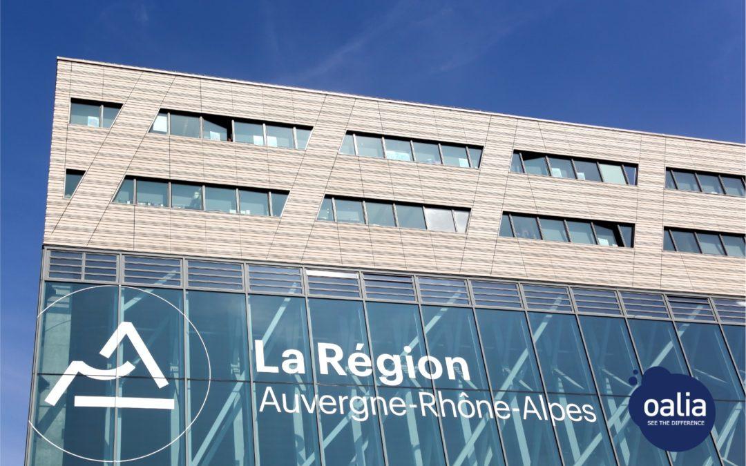 Dématérialisation de la commande publique : La Région Auvergne-Rhône-Alpes choisit Oalia !