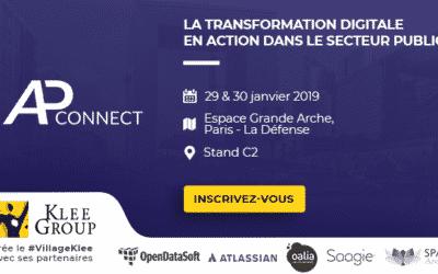 Oalia au salon AP Connect les 29 et 30 janvier 2019